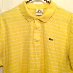 Men's Lacoste shirt size L or XL - size 7 - used